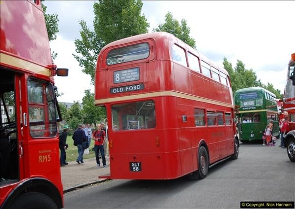2014-07-13 Routemaster 60 @ Finsbury Park, London.  (342)342