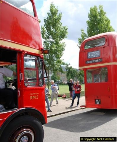 2014-07-13 Routemaster 60 @ Finsbury Park, London.  (343)343