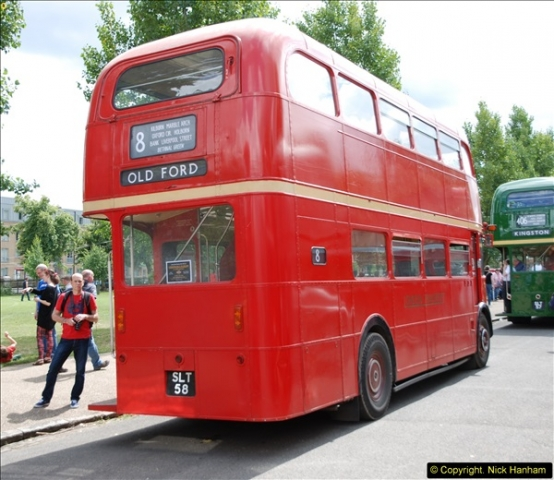 2014-07-13 Routemaster 60 @ Finsbury Park, London.  (344)344
