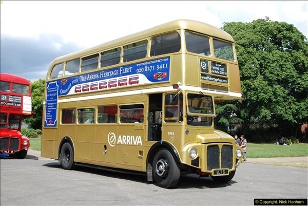 2014-07-13 Routemaster 60 @ Finsbury Park, London.  (345)345