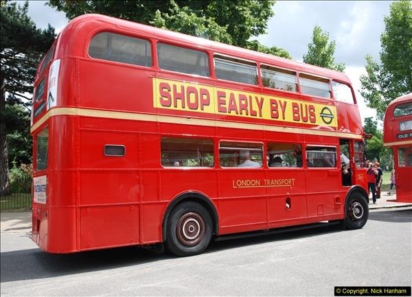 2014-07-13 Routemaster 60 @ Finsbury Park, London.  (346)346