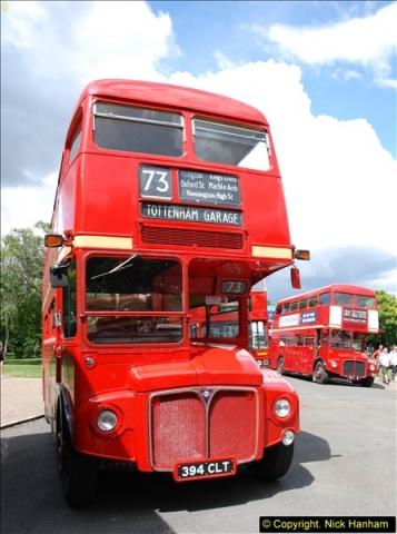 2014-07-13 Routemaster 60 @ Finsbury Park, London.  (347)347