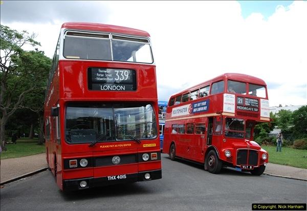 2014-07-13 Routemaster 60 @ Finsbury Park, London.  (348)348