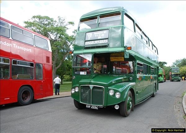 2014-07-13 Routemaster 60 @ Finsbury Park, London.  (354)354