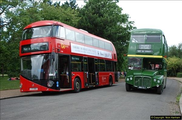 2014-07-13 Routemaster 60 @ Finsbury Park, London.  (355)355