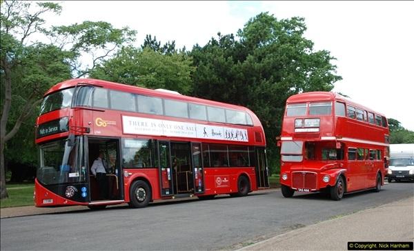 2014-07-13 Routemaster 60 @ Finsbury Park, London.  (357)357
