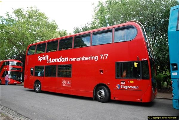 2014-07-13 Routemaster 60 @ Finsbury Park, London.  (37)037