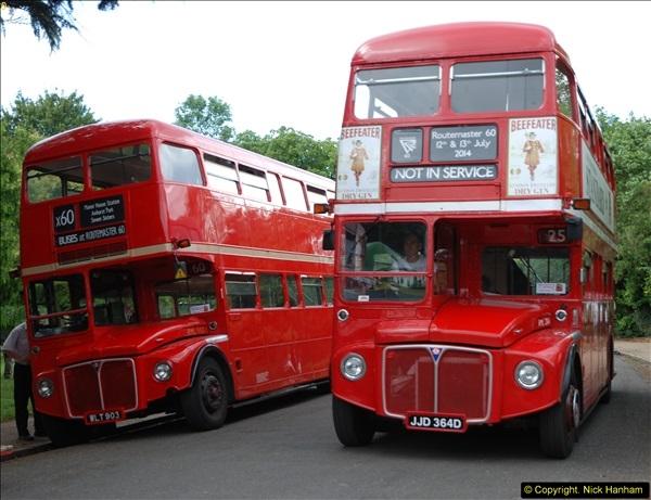 2014-07-13 Routemaster 60 @ Finsbury Park, London.  (372)372