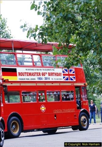 2014-07-13 Routemaster 60 @ Finsbury Park, London.  (385)385