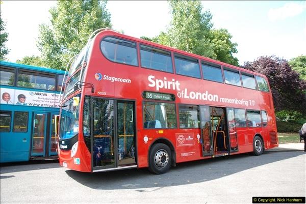 2014-07-13 Routemaster 60 @ Finsbury Park, London.  (390)390