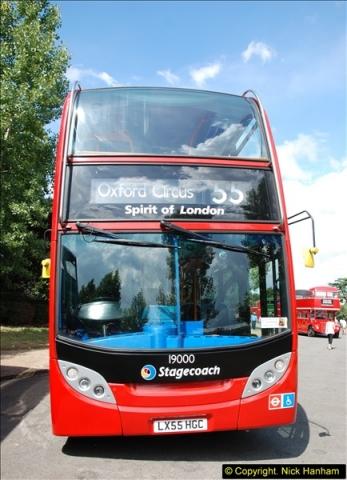 2014-07-13 Routemaster 60 @ Finsbury Park, London.  (394)394