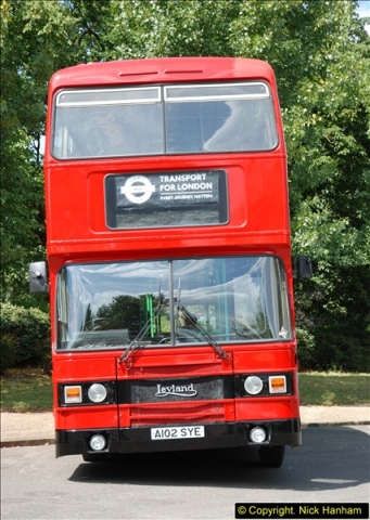 2014-07-13 Routemaster 60 @ Finsbury Park, London.  (396)396