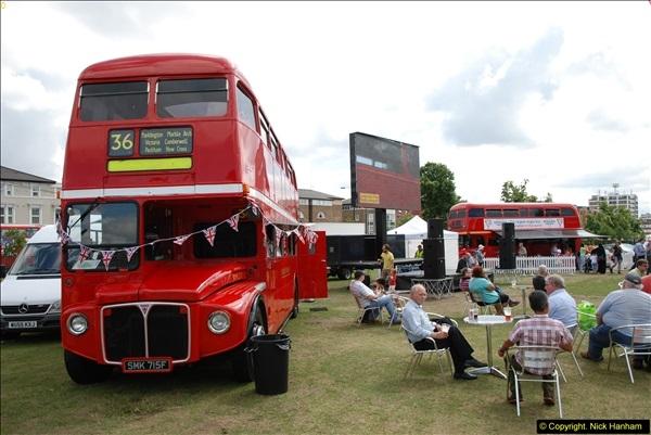 2014-07-13 Routemaster 60 @ Finsbury Park, London.  (398)398