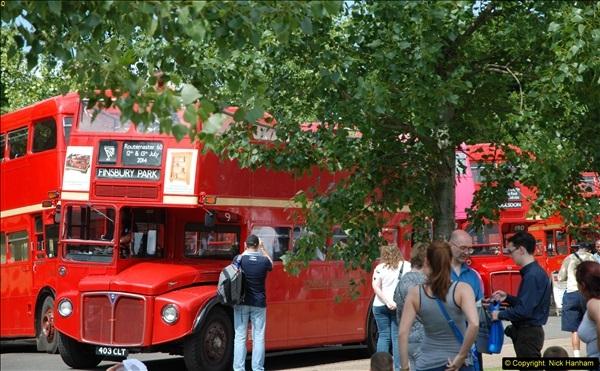 2014-07-13 Routemaster 60 @ Finsbury Park, London.  (399)399