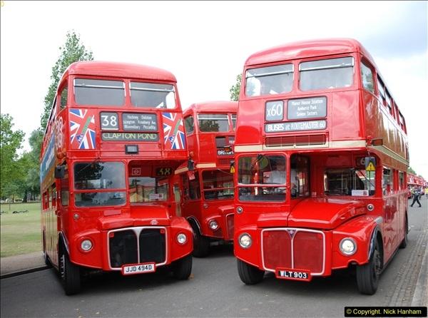 2014-07-13 Routemaster 60 @ Finsbury Park, London.  (405)405