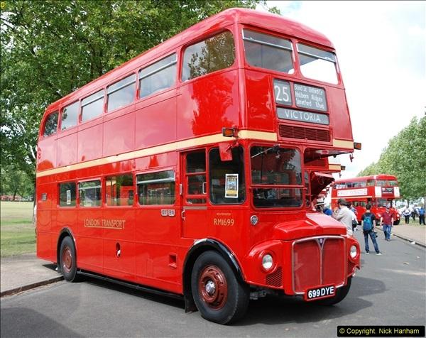 2014-07-13 Routemaster 60 @ Finsbury Park, London.  (409)409