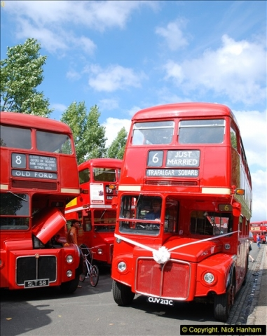 2014-07-13 Routemaster 60 @ Finsbury Park, London.  (418)418