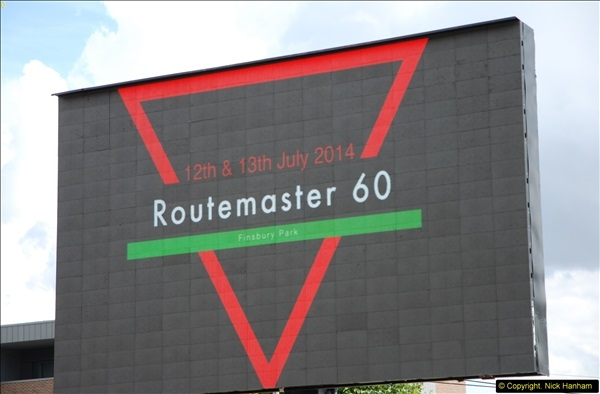 2014-07-13 Routemaster 60 @ Finsbury Park, London.  (442)442