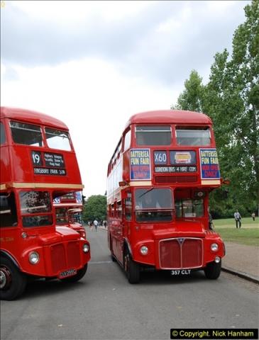2014-07-13 Routemaster 60 @ Finsbury Park, London.  (463)463
