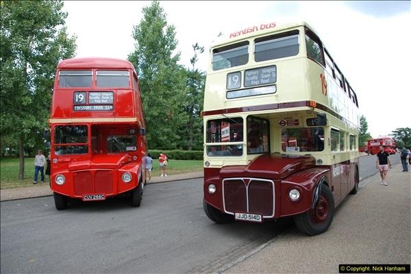 2014-07-13 Routemaster 60 @ Finsbury Park, London.  (464)464