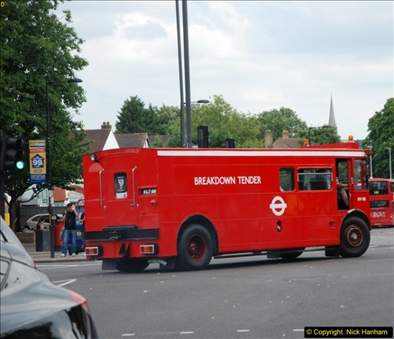 2014-07-13 Routemaster 60 @ Finsbury Park, London.  (470)470