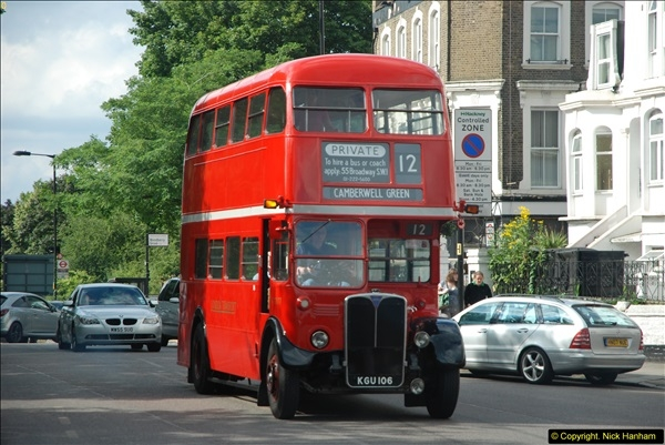2014-07-13 Routemaster 60 @ Finsbury Park, London.  (475)475