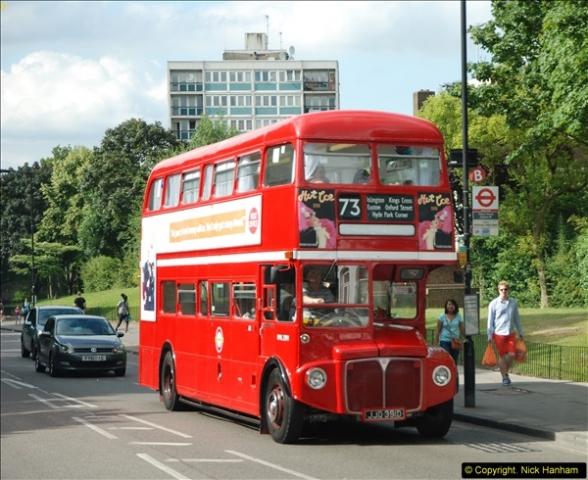 2014-07-13 Routemaster 60 @ Finsbury Park, London.  (479)479