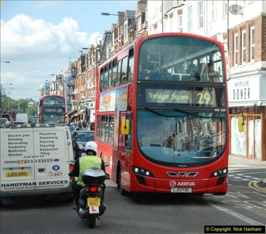 2014-07-13 Routemaster 60 @ Finsbury Park, London.  (485)485