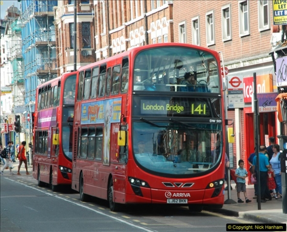 2014-07-13 Routemaster 60 @ Finsbury Park, London.  (487)487