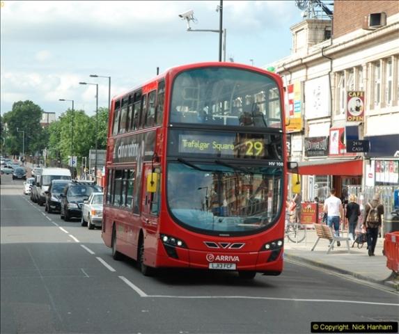 2014-07-13 Routemaster 60 @ Finsbury Park, London.  (488)488