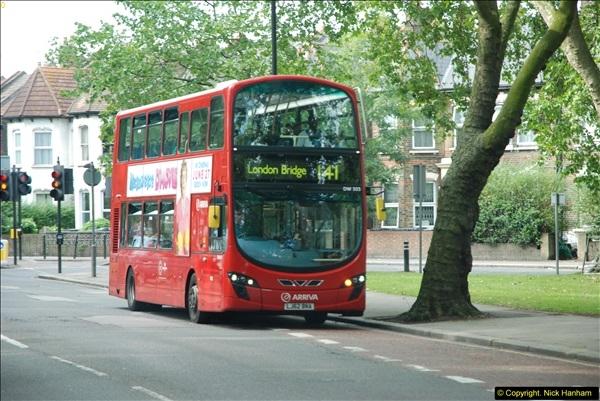 2014-07-13 Routemaster 60 @ Finsbury Park, London.  (490)490