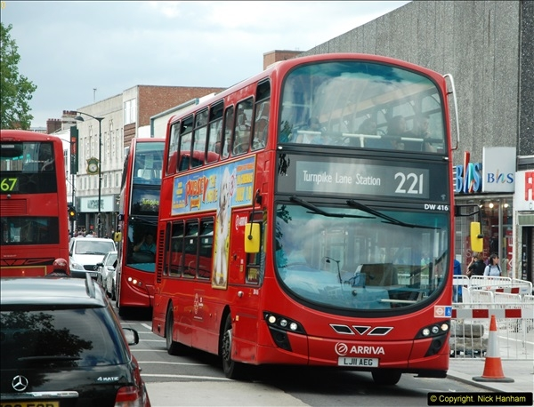 2014-07-13 Routemaster 60 @ Finsbury Park, London.  (494)494