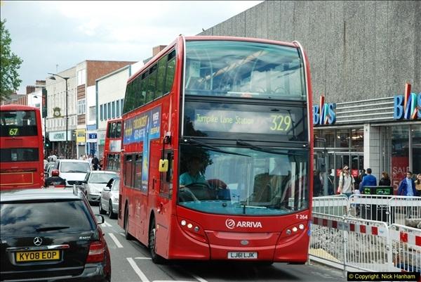 2014-07-13 Routemaster 60 @ Finsbury Park, London.  (495)495