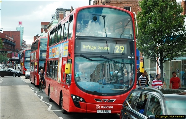 2014-07-13 Routemaster 60 @ Finsbury Park, London.  (498)498
