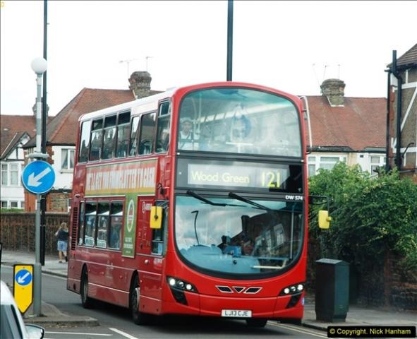 2014-07-13 Routemaster 60 @ Finsbury Park, London.  (507)507