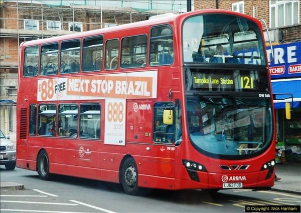 2014-07-13 Routemaster 60 @ Finsbury Park, London.  (509)509