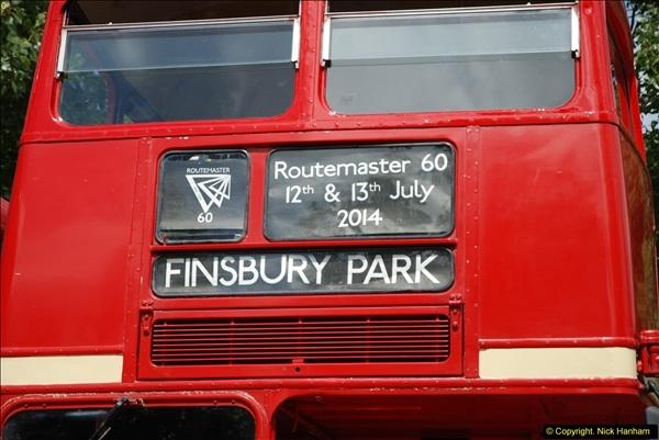 2014-07-13 Routemaster 60 @ Finsbury Park, London.  (55)055