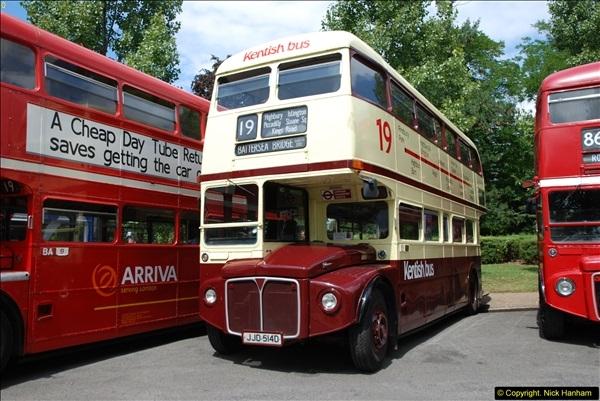 2014-07-13 Routemaster 60 @ Finsbury Park, London.  (60)060