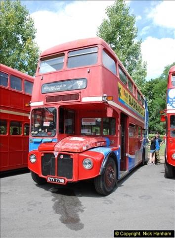 2014-07-13 Routemaster 60 @ Finsbury Park, London.  (63)063