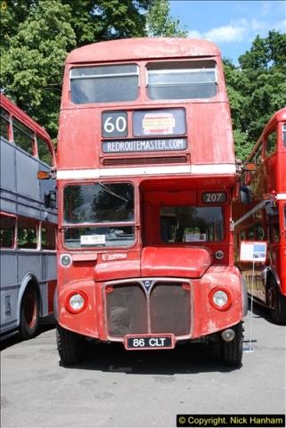2014-07-13 Routemaster 60 @ Finsbury Park, London.  (75)075