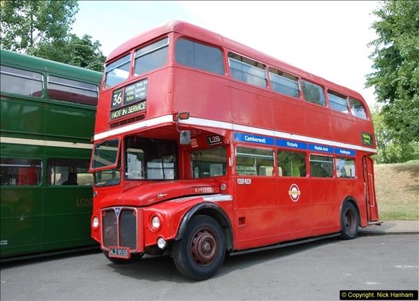 2014-07-13 Routemaster 60 @ Finsbury Park, London.  (78)078