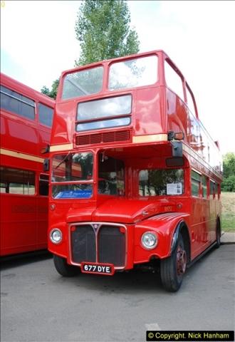 2014-07-13 Routemaster 60 @ Finsbury Park, London.  (80)080