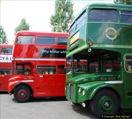 2014-07-13 Routemaster 60 @ Finsbury Park, London.  (87)087