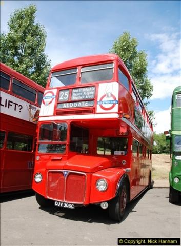 2014-07-13 Routemaster 60 @ Finsbury Park, London.  (91)091