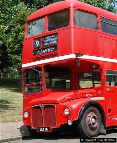 2014-07-13 Routemaster 60 @ Finsbury Park, London.  (99)099