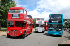2014-07-13 Routemaster 60 @ Finsbury Park, London.  (51)051
