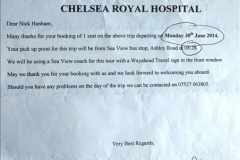 Royal Hospital Chelsea London 30 June 2014