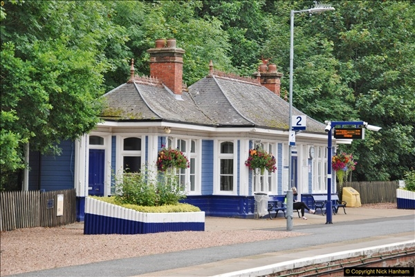 2017-08-20 to 21 Poole to Grantown-on-Spey via Gretna Green.  (205)205