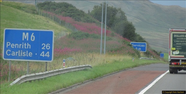 2017-08-20 to 21 Poole to Grantown-on-Spey via Gretna Green.  (39)039