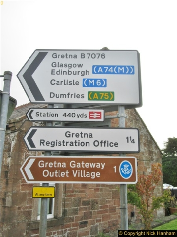 2017-08-20 to 21 Poole to Grantown-on-Spey via Gretna Green.  (71)071